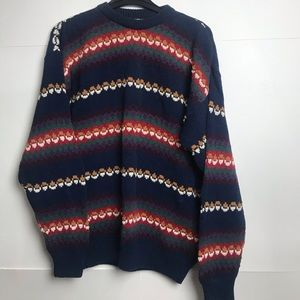 Vintage Retro 90's Oversized Boyfriend Sweater